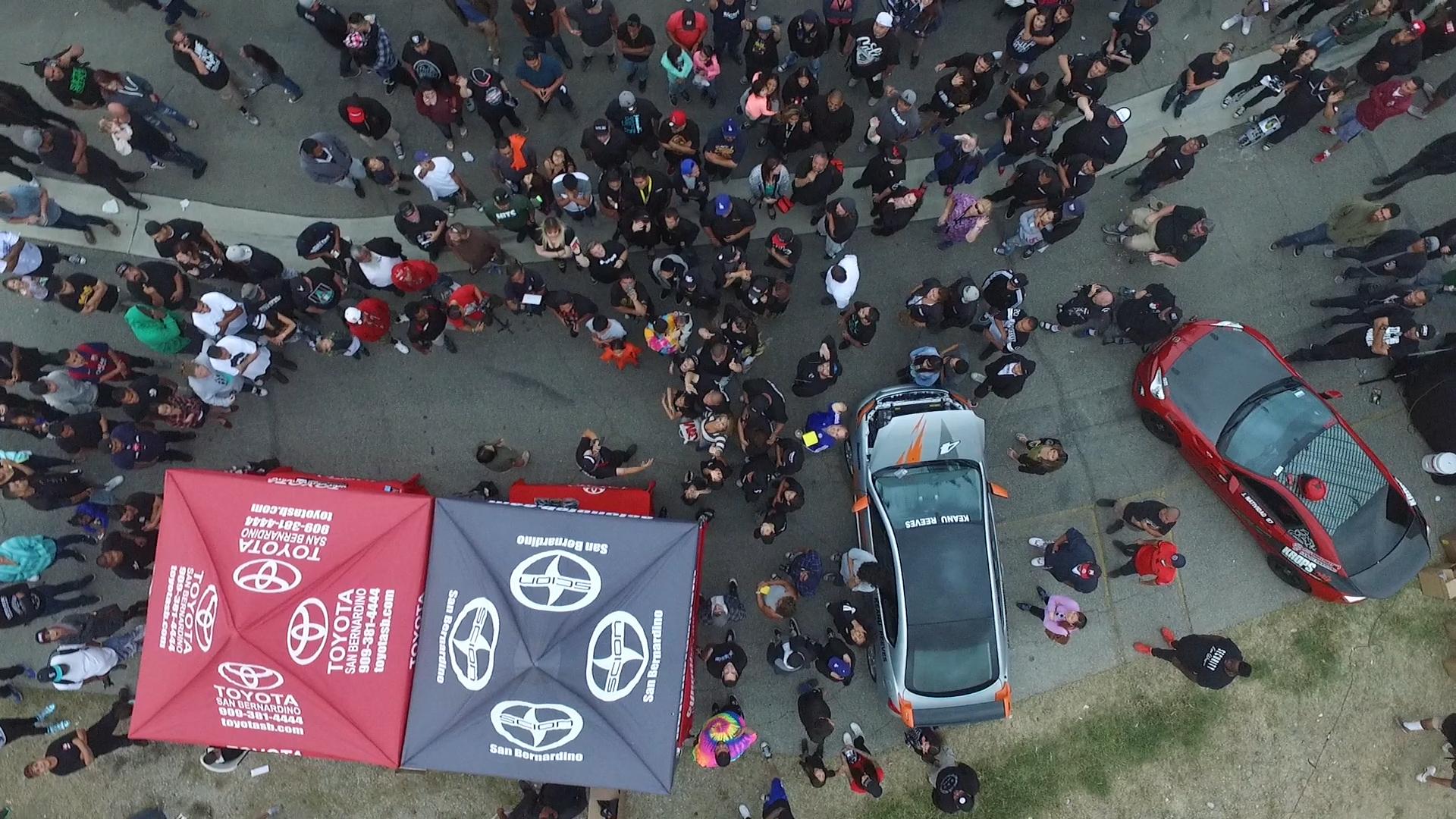 SKO 3 Aerial Shot of Crowd